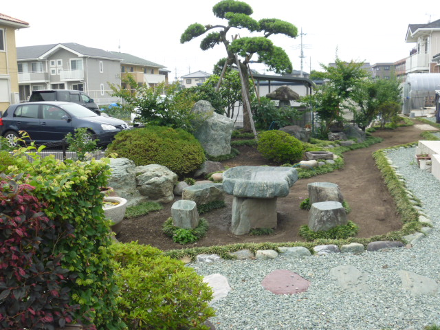 高崎メダカ園の店主が造った庭園